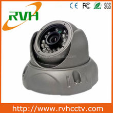 2012 Hotsale! Guangzhou cheap Ambarella CMOS Sensor 2.1mp vandalproof dome cameras ip