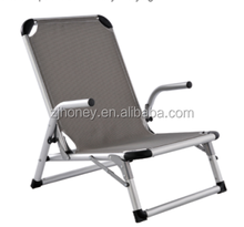 new designed steel tube beach chair for heavy people