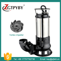 Industrial Non-clog Sewage Water Pumps for Sale