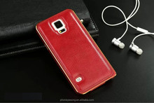 Litchi Texture Leather Case for samsung galaxy S5