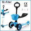 2015 cheap good quality 3 in 1 mini scooter, electric trike scooter