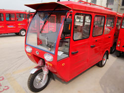 electric passenger and cargo tricycle on hot selling