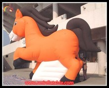 advertising cartoon inflatable horse for sale