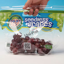 China Supplier perforated BPA free grape packaging bag