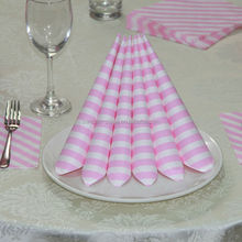 Princess Birthday Party Supply Baby Pink Color Paper Napkins