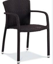 Outdoor garden/patio/park aluninium rattan dinning chair