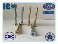 Zinc plated phillips countersunk head wood screw,bs1210,widely used in the construsction fields,furniture field