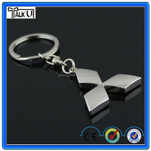 Hot sell custom metal car logo keychain car logo keyring/keychain