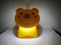 Bear shape rechargeable LED desk lamp for reading/ studying/ working