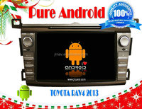 FOR Toyota RAV4 2013 Android 4.2 car dvd player special RDS,Telephone book,AUX IN,GPS,WIFI,3G,Built-in wifi dongle