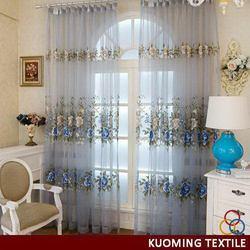 Designer new arrival china curtains fabrics wall drapery