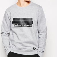 Printing High Quality Custom Crew Neck Sweatshirt Men Wholesale In China