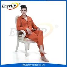 2015New Copper ion implantation Bamboo Cotton man Pajamas