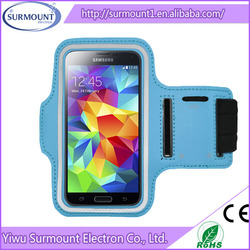 Factory Cheap Price Best Services Waterproof GYM Running Sports Mobile Phone Armband Case With Key Holder And Earphone Jack