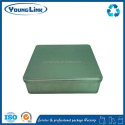 rectangle pencil packing tin box
