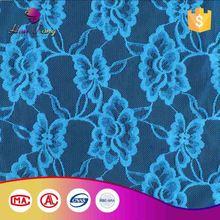 Lowest Cost Custom Design Lace Blue Sequin Fabric