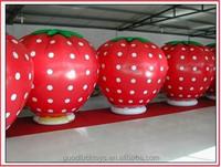 inflatable cartoon strawberry fruit