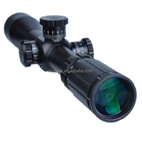 4-14x44 side wheel foucs first focal plane scope for tactical shoooting