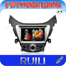 2 din 8 inch car dvd player with gps stereo for 2012 hyundai elantra