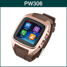 Original Android 4.2 1.54 Inch MTK6572 Dual Core Support 3G Network Camera Smart Watch Phone PW306