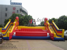 inflatable battle zone inflatable interactive sport