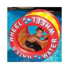 ANBEL Pool Toy Water Wheel Inflatable Float Lake Beach Camping Outdoor Kids Vinyl Fun