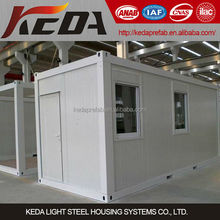 High quality 20ft Cheap shipping designs prefab container homes for sale