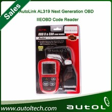 2015 New !! best price Autel AutoLink AL319 OBD II & CAN Code Reader Auto Link AL-319 auto scan tool Update on Official Website
