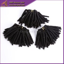 new arrival cheap & fahionable indian human fascination baby liss pro bouncy curl hair