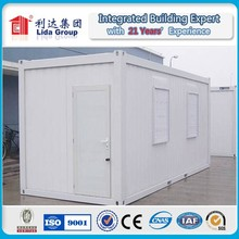 2015 China Cheap Container hotel room modular house/ Fireproof sandwich panel container cabin