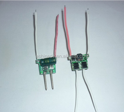 12V MR16 low-voltage 1-3*3W 500mA power LED drive