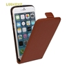 Hot selling high quality up and down to open leather holster for iphone 4s