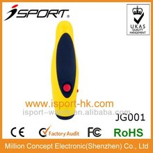 2012 hot selling big electronic coach plastic large volume whistle