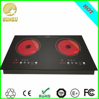 1500W-3000W Double Burner induction cooker with gas stove solar national brand rice cooker