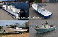 Liya 7.6m river transport boat frp engine fishing boat for sale philippines