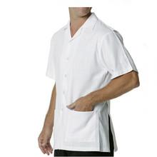 Summer White Men Shirt Custom Doorman Staff Bellboy Uniform for Hotel Doorman Uniform Design Shirt WS627