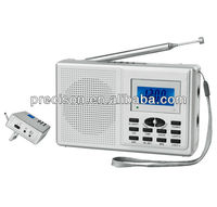 Digital Clock Radio FM/AM/SW(1-6) 8 Band for outdoor or home