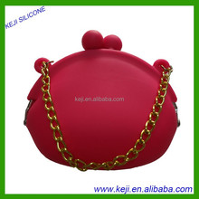 silicone women bag/ silicone candy bags wholesale bag