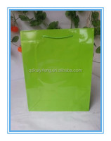 glossy laminated art paper shopping gift bags