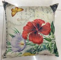 Fashion Gift Household Decorative Case Linen Cotton Cushion For Sofa