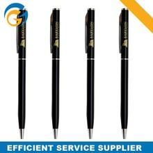 Slim Thin Bulk Metal Ballpoint Pen for Advetising