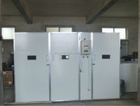 Top hatching fully automatic poultry egg incubator industrial egg incubator for 15000 chicken eggs