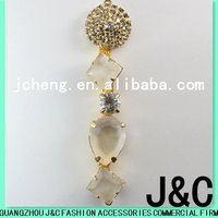 2012 gold plated fashion shoes accessories