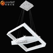 Murano led lámpara de araña, en la lámpara om99801- 600+400f