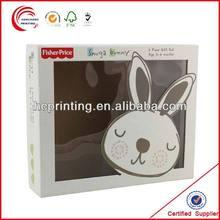 Eco-friendly High Quality White cardboard packaging window