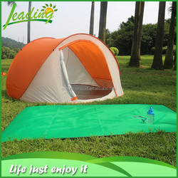 Polyester Fabric Fiberglass Poles Spring Steel Wire Cheap Automatic Personal Pop Up Tent Wholesale