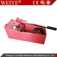 0-50BAR manual hand pressure test pump hydraulic test benches RTP-50
