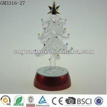 Wholesale 8in snow white illuminated christmas tree