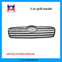 Professional Auto Parts Grill Plastic Injection Molding