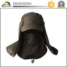 Fisherman hat helmet Summer Neck-Face Travler Sun Protection Block Flap